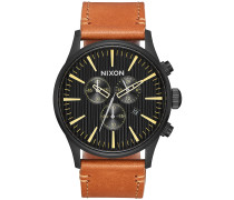 The Sentry Chrono Leather Uhr muster
