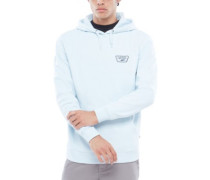 Full Patched Hoodie baby blue
