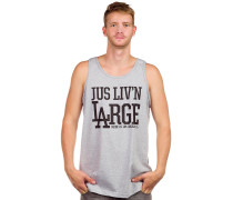 Liv'n Large Tank Top grau