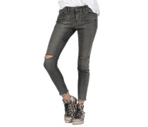 Super Stoned Skinny Jeans gunmetal grey