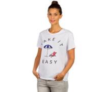 Easy Livin T-Shirt white