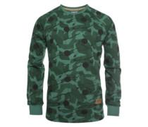 Drop Crew Sweater ivy wood dot