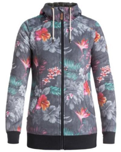 Frost Printed Zip Hoodie hawaiian tropik_paradise