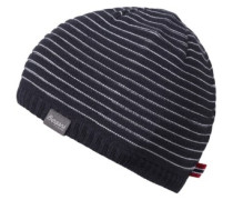 Striped Beanie cream