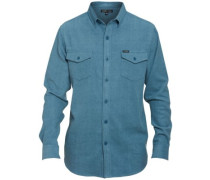 Fielder Shirt LS bluestone