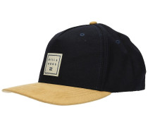 Stacked Up Snapback Cap navy