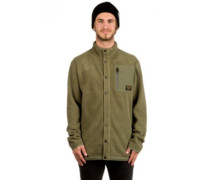 Hearth Snap Up Fleece Jacket olive night