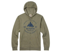Gristmill Zip Hoodie light olive heather