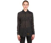 The Chin Up Shirt LS white dots