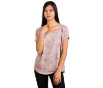 Adriana T-Shirt mauve tiedye