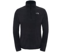 100 Glacier 1/4 Zip Fleece Pullover tnf black