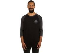 Bolt Triangle Raglan T-Shirt LS charcoal heather