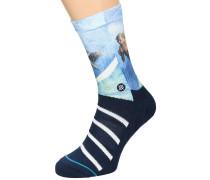Archibold Classic Crew Socken blau