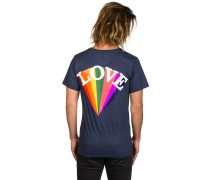 Rainbow Worrior T-Shirt blau
