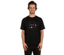 X Pink Panther Box Logo T-Shirt black