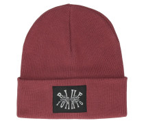 Roses Woven Patch Beanie