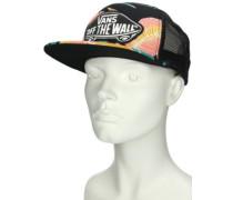 Beach Girl Trucker Cap black tropical