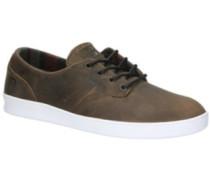The Romero Laced X Eswic Skate Shoes white