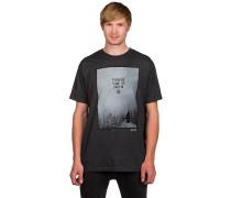 Drop In Slim T-Shirt schwarz
