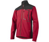 Attack Fire Softshell Bike Jacket dark red