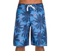 Stay Palm Boardshorts blau