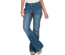 Wide Leg Flare Jeans retro blue