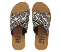 Surf Bandit Sandals Women black white