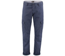 Tapered Cargo Pants ink blue