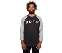 BRTN Raglan T-Shirt schwarz