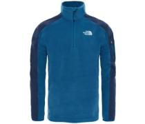 Glacier Delta 1/4 Zip Fleece Pullover monterey blue