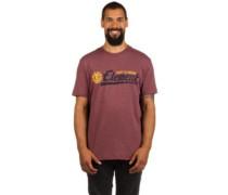 Signature T-Shirt oxblood heather