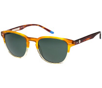 Dark Signal Shiny Brown Gradient Sonnenbrille braun