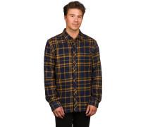 Big Ed Flannel Woven Hemd braun