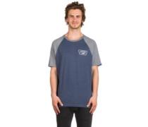 Full Patch Raglan T-Shirt heather grey