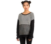 Modern Love Cardigan black white