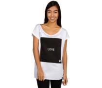 Square White T-Shirt white