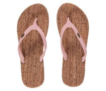 Cork Bed Sandals Women pale blush