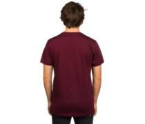 Ruztic T-Shirt bordeaux