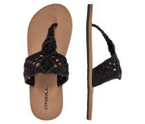 Crochet Sandals black out