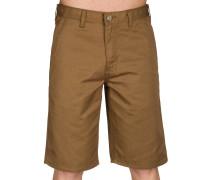 Hooligan Shorts braun