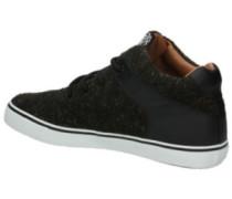 Chunk Spotted Felt Shoes black