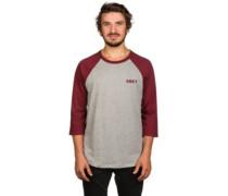 Afton Raglan T-Shirt LS burgundy