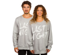 Last Night Sweater grey melange