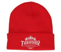 Thrasher TDS Beanie rot