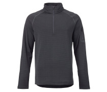 Ak Grid Half Zip Tech Fleece grau