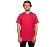 Geezer T-Shirt brick black heather