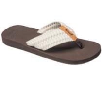 Cushion Threads Sandals Women vintage white