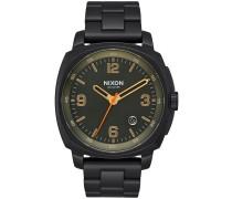 The Charger Uhr schwarz