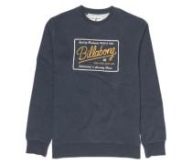 Baldwin Crew Sweater navy heather