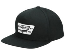 Full Patch Snapback Cap Boys true black